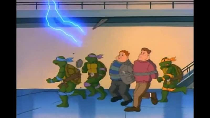 Как сейчас рванет! - TMNT (1987)