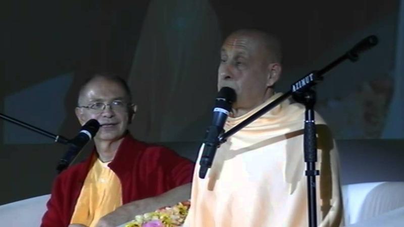 Е.С. Радханатха Свами - публичная лекция в центре Азимут (05.08.2015)
