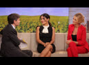 Сальма Хайек и Блейк Лайвли на ток шоу Good Morning America 27 06 2012
