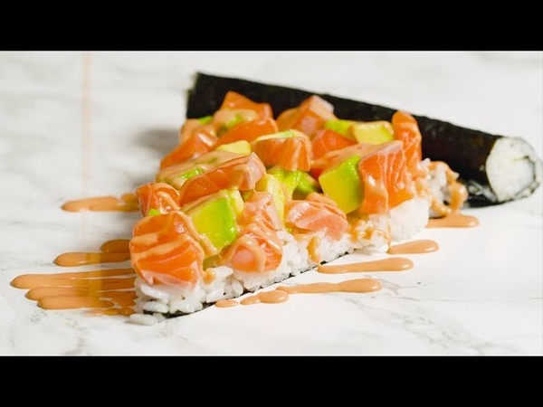 【ジャパニーズ・ピザ😏】寿司ピザ🍕