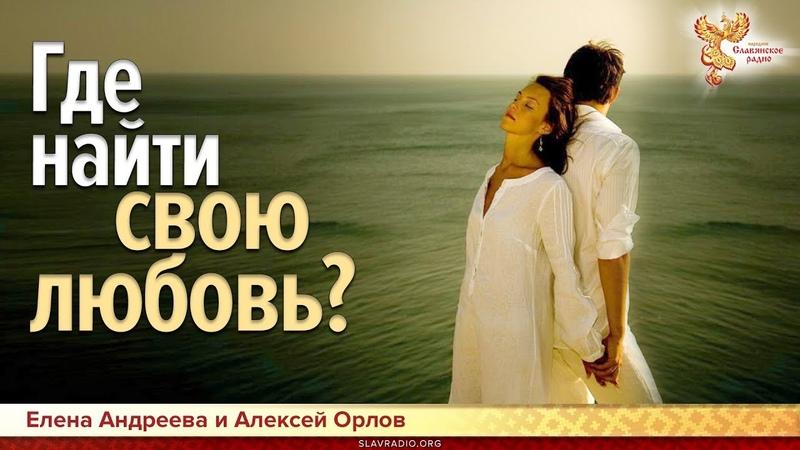 Где найти свою любовь? Елена Андреева и Алексей Орлов