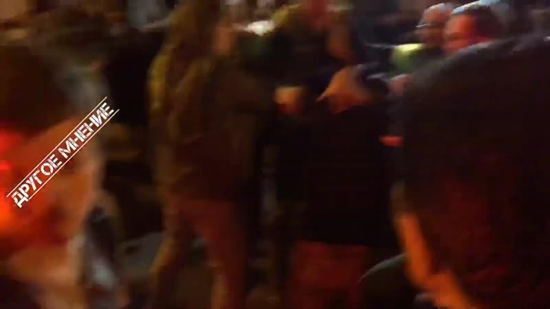 СРОЧНО ⚡️ Жёсткое столкновение с полицией и ЧОПом в Москве! 31.05.2019