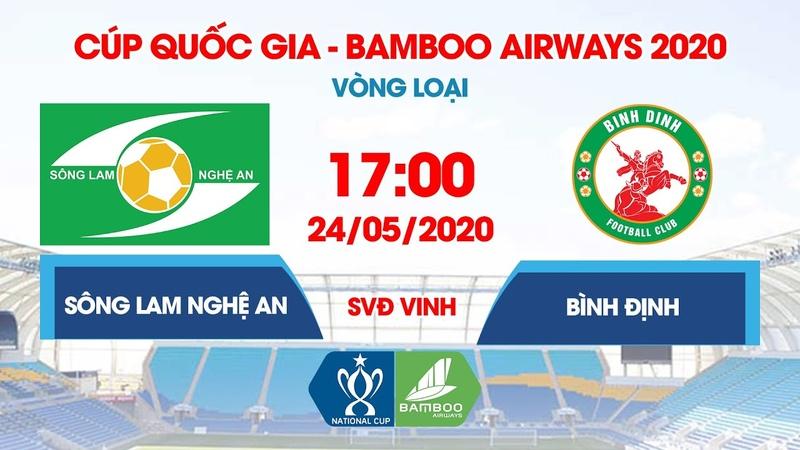Вьетнам Кубок 2020 Сон Лам Нге Ан Бинь Динь Полный матч 24 05 20