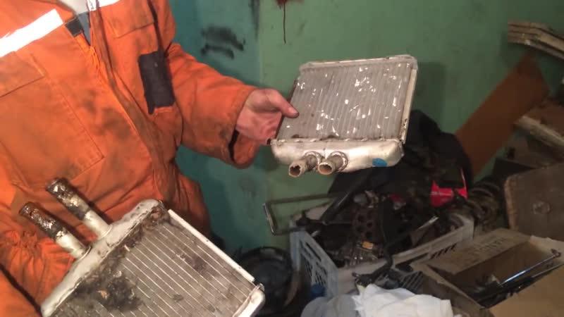 TR Garage Daewoo Lanos SENS замена радиатора печки