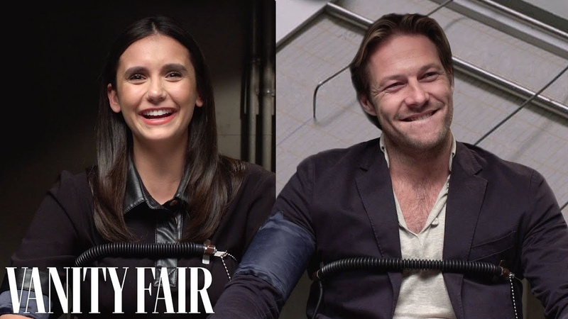 Nina Dobrev and Luke Bracey Take a Lie Detector Test | Vanity Fair