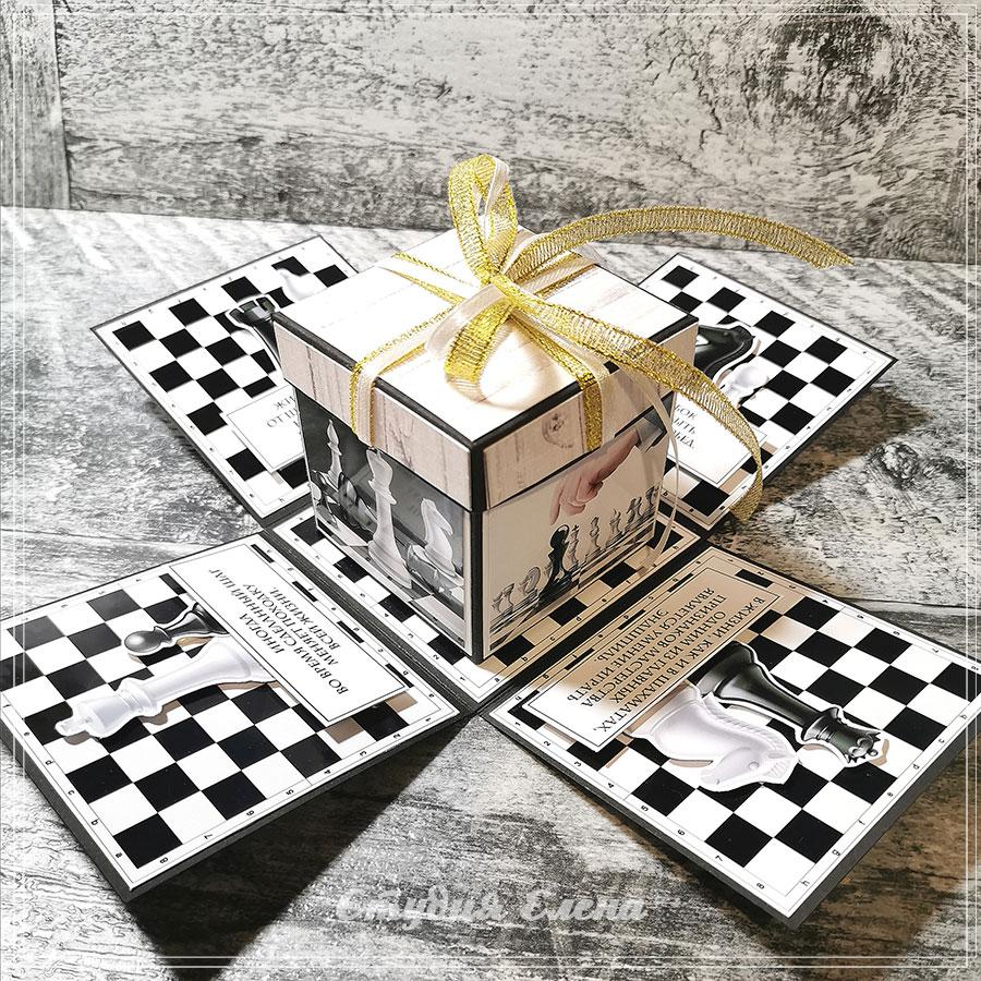 подарочная коробка для учителя