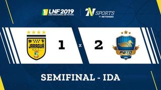 LNF2019 - Gols - Semifinais Ida - Jaraguá 1 x 2 Pato