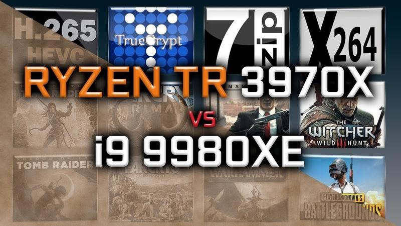 Ryzen TR 3970X vs i9 9980XE Benchmarks - 15 Tests - Price fight!