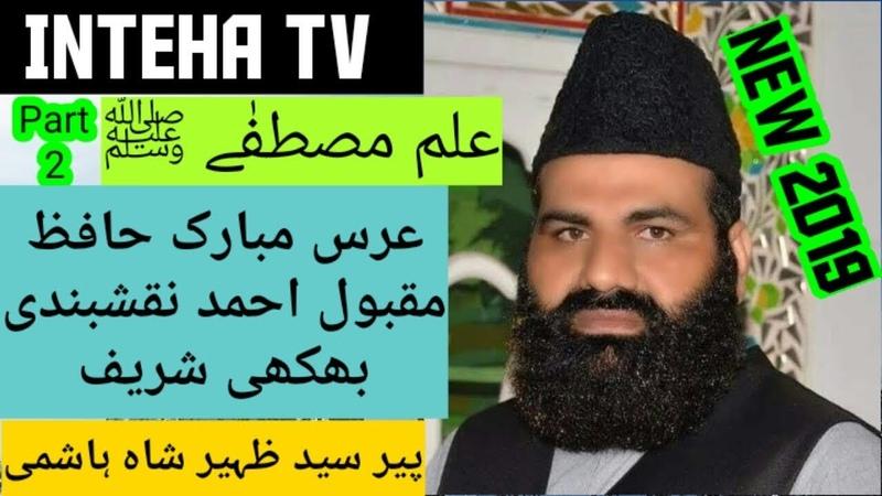 Peer Sayed Zaheer Shah Hashmi Urras Mubarak Hafiz Maqbol Ahmed Naqashbandi Dargah Bhikhi Sharif
