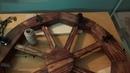 Люстра в виде колеса от старой телеги, Своими руками часть 2