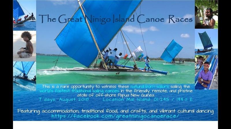 Amazingly Fast Canoes Sailing in the Ninigo Islands of Manus Province