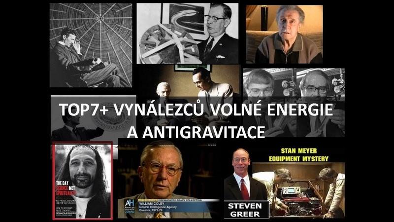 TOP7 vynálezců volné energie a antigravitace