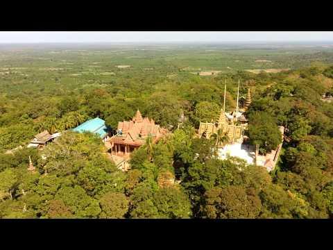 Amazing Show Mountain Scenery By Drone Hubsan Zino GPS 4K Camera