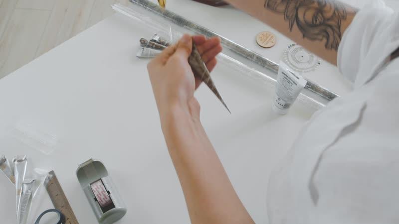 Как сделать идеальный конус для мехенди