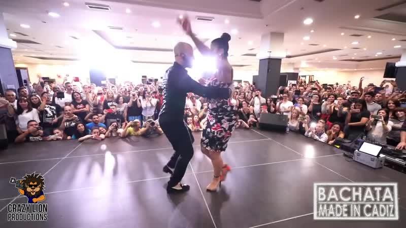 Танцуют Жорж Атака и Таня Ла Алемана Мастер Класс Кла а а с с