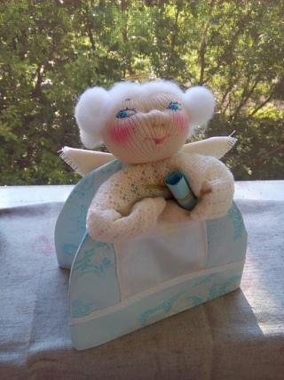 Желание  Грелочка-ангел (на заварочный чайник)