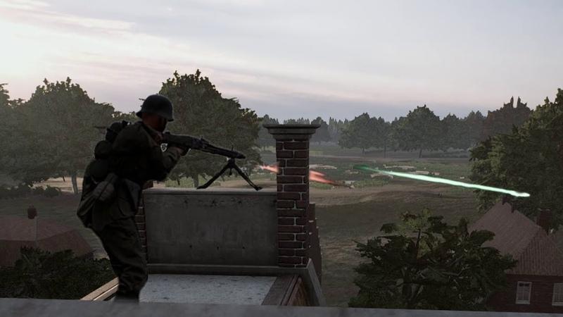 Post Scriptum MG42 Rooftop mayhem GER Comms