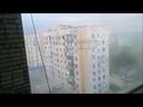 Shelling residential town houses Avdeevka Ukraine
