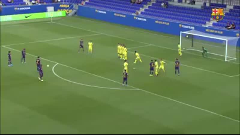 Барселона Б 3:0 Ориуэла