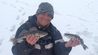 ЗАКРЫТИЕ СЕЗОНА ловли со льда!!!Рыбалка на берша на донки с тюлькой