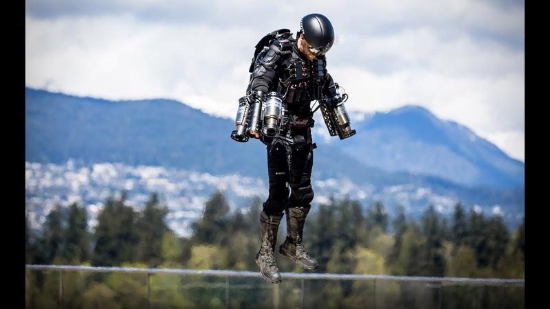 Железный Человек Летает Со Скоростью Почти 140 Км ч В Реальной Жизни Побив Мировой Рекорд