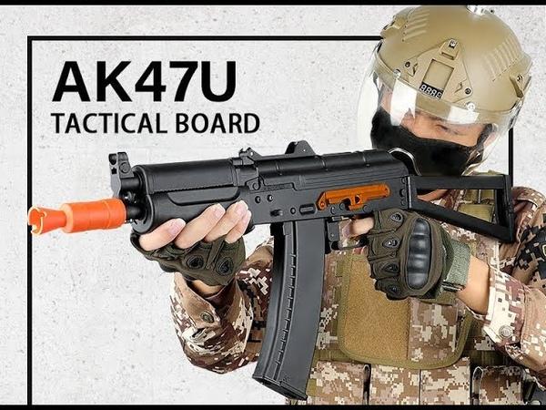 錦明12代 連動回膛AKS74UN 水彈槍 J12 AKS74UN BLOW BACK GELL BALL GUN
