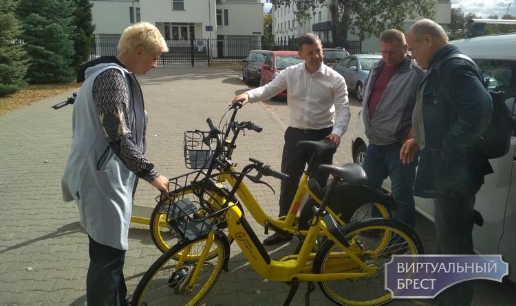 Прокатные велосипеды, электросамокаты на улицах Бреста... Когда и сколько это будет стоить?