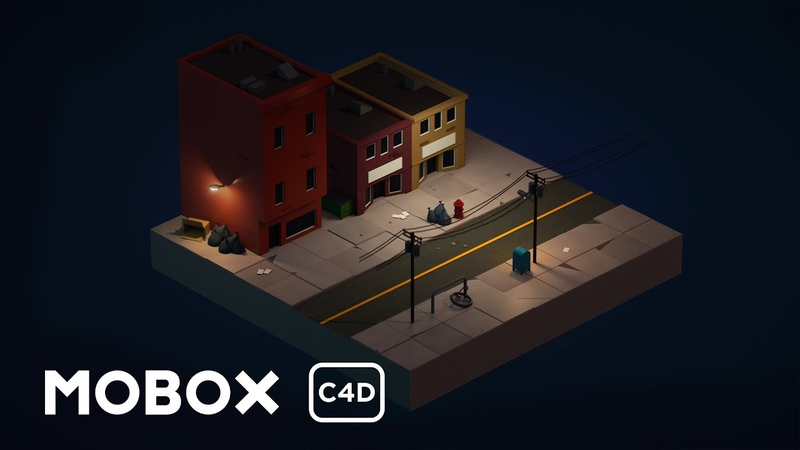 How to Model an Isometric City - Cinema 4D Tutorial