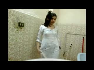 Indian girl takes shower and masturbates
