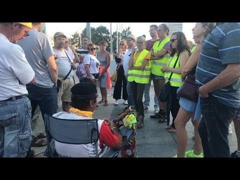 En Direct de Genève J 7 avant l'acte 42 et 10e jour de grève de la faim de Petit Jean