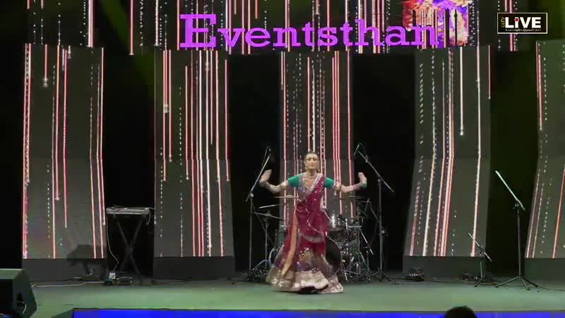 Colleena Shakti performing dance Eventsthan 2018 Venue JW Marriott Jaipur
