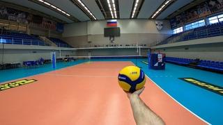 Волейбол от первого лица | VOLLEYBALL FIRST PERSON | ZENIT ST. PETERSBURG | SETTER | 50 episode