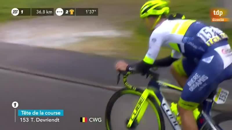Ciclismo París Niza 3ª etapa Chalette Sur Loing La Chatre