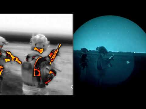 Bridged Flir Breach and WP PVS-14 with ANPAS29 COTI Thermal Fusion