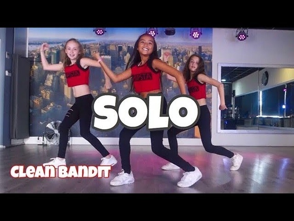 Solo - Clean Bandit ft Demi Lovato - Easy Kids Dance Video Choreography