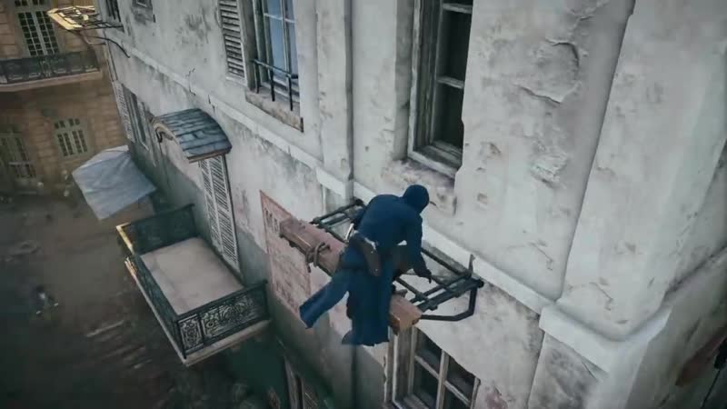 Assassin`s creed unity   parkour montage