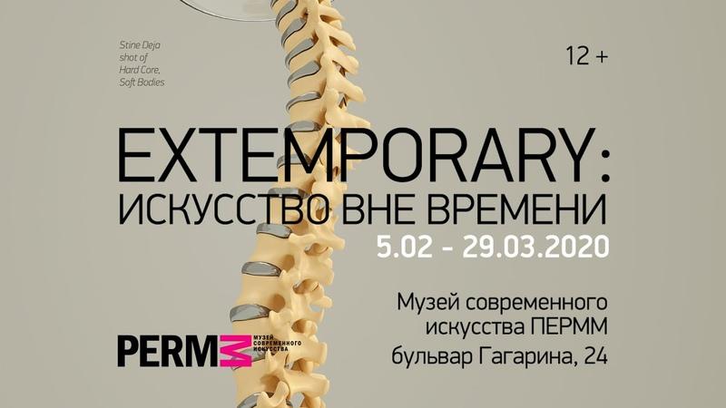 Открытие выставки «Extemporary: искусство вне времени» в музее современного искусства PERMM