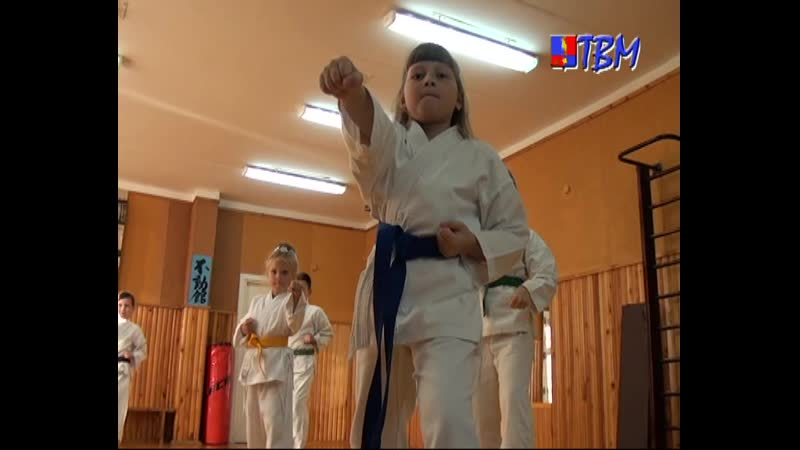 Традиционное карате тренер Виктор Кучера Наши корреспонденты побывали на одной из тренировок спортивном клубе Самурай
