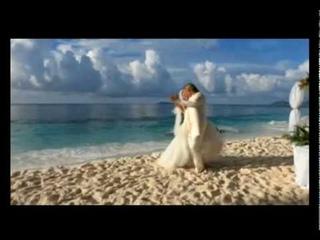 Olaf and Sandra's wedding in Seychelles