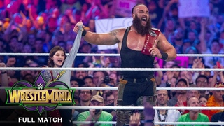 [WBSOFG] FULL MATCH - The Bar vs. Braun Strowman & Nicholas - Raw Tag Team Titles Match: WrestleMania 34