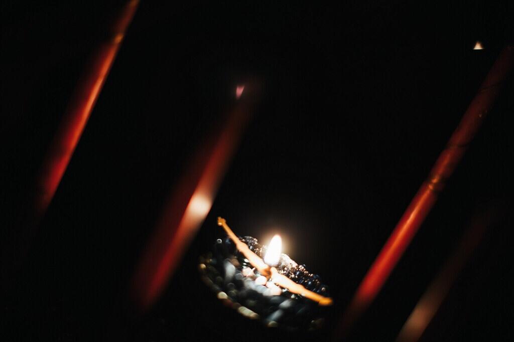 В Варницкой обители совершили уставное Всенощное бдение на праздник Благовещения Пресвятой Богородицы, изображение №1
