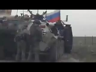 Russian disrespect for us forces in syria