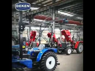 Where is the best tractor manufacturer? Processing in China's production plant is in full swing