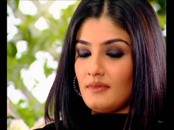 Rendezvous with Simi Garewal Raveena Tandon 2002
