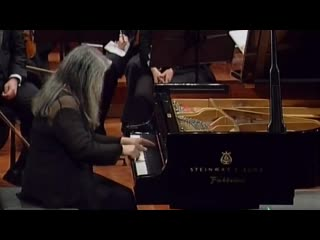 Scarlatti Sonata in D minor K141 by Martha Argerich (2008)