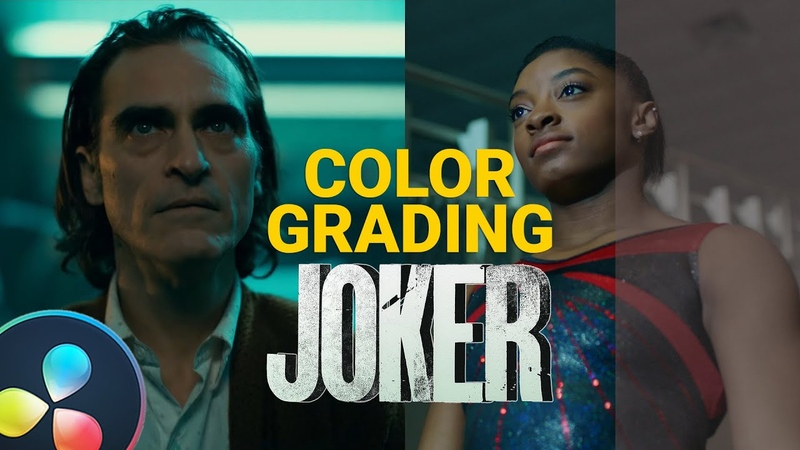 DaVinci Resolve 16 Tutorial: Color Grading Cinematic Look - JOKER