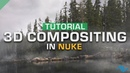 How to Composite 2D VFX Stock Footage Into a 3D Scene | Nuke