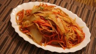 Салат из пекинской капусты. Мой фирменный рецепт.