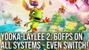 Yooka Laylee And The Impossible Lair Spotless on Switch Superb on PS4 Xbox One and X