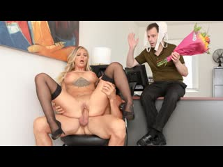 Alison avery sissy husband watches as his wife gets cock for lunch [, all sex, big tits, blonde, blowjob]